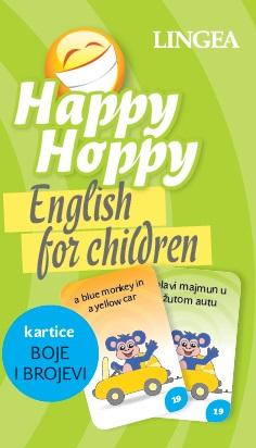 Happy Hoppy kartice I: Boje i Brojevi